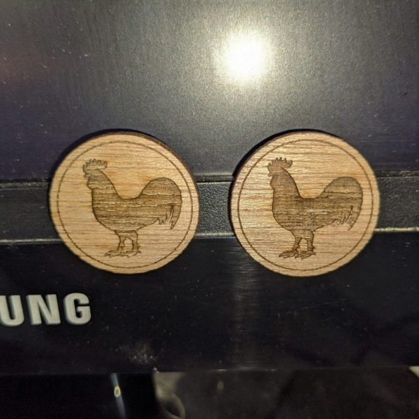 Rooster Magnets