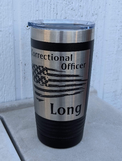 Correctional Officer Travel Cup