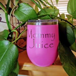 Mommy Juice Glass